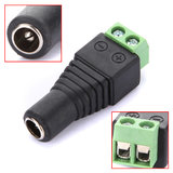 10x 2.1 x 5.5mm DC Power Female Plug Jack Adapter Connector Socket f CCTV Camera_