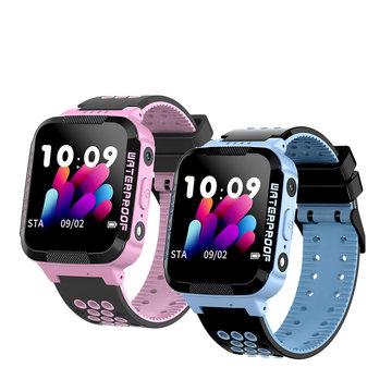 Kinderen Zwemmen Smart Watch Touchscreen Slimme armband GPRS + LBS Anti-verloren locatie met camera-ondersteuning SIM-kaart / Wekker / SOS Oproep / Voice Chat
