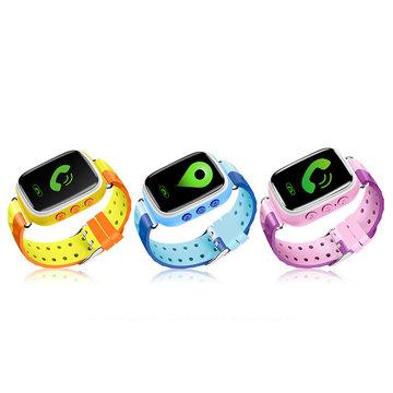 Q18 Scherm Touch Kinderen Kid SOS Bel GPRS Locatie Apparaat Tracker Smart Watch