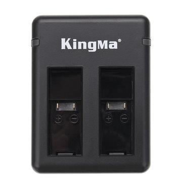 5V 2A dubbele batterijlader Charge 2 batterij voor Kingma GoPro Hero5 Hero6