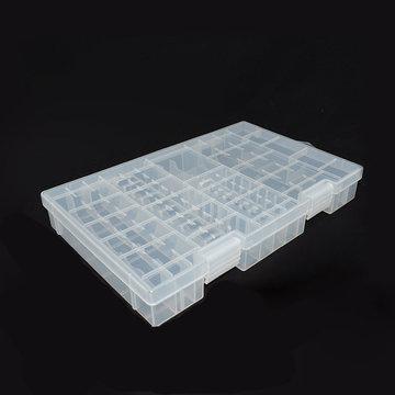 Powerlion PL-B001M stofdicht beschermende AA AAA 9V batterijbehuizing