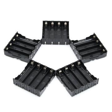 5PCS High Strength Battery Plastic Case Houder voor 4x3.7V 18650 Li-ion batterijen