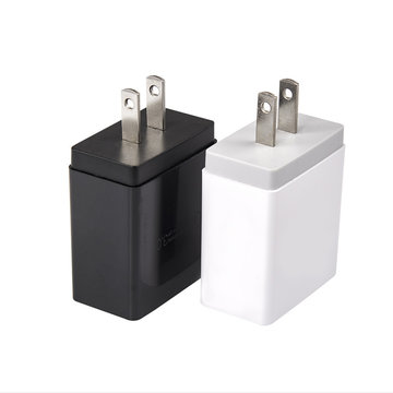 4 USB-poort Laderadapter Snel reizen Mobiele telefoon Snel opladen EU VK VS