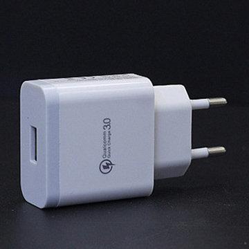 18W QC 3.0 Snelle snellader USB-wandladeradapter Amerikaanse stekker voor telefoons