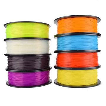 Easythreed® 1KG / rol 1,75 mm PLA gloeidraad voor 3D-printer Verschillende kleuren gekozen
