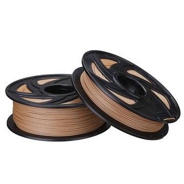 1.75mm 0.5kg / 1kg Houten Kleur PLA Filament Voor 3D Printer RepRap