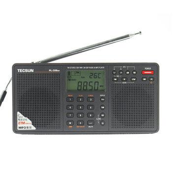 Tecsun PL-398MP 2,2 inch breedband digitale tuning Stereo FM / AM / SW radio-ontvanger