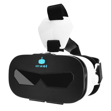 Fiit Kuge VR-bril 3D Virtual Reality Headset voor 4.0 - 6.33 Inch Smart Phone