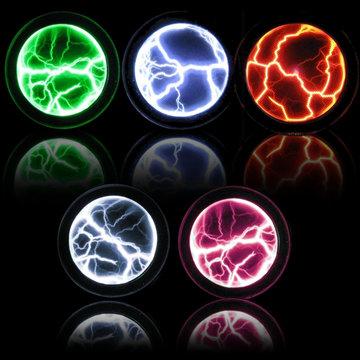 Kleurrijke Plasma Disk Fancy Mini Pocket Plasma Disk Sensor Licht Plaat Home Disco Feestdecoratie PVC & Glass Performance