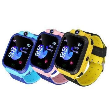 Q12B GSM SIM Smart Watch Telefoon Touch Camera Locator Alarm Anti-verloren voor kinderen Kinderen