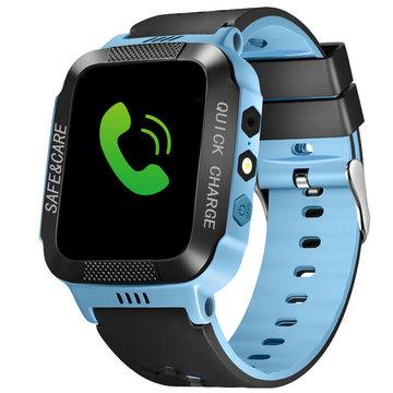 Kinderen Smart Watch Anti-verloren GPS Fitness Anti-verloren Tracker Locator SOS Call Camera voor IOS Android APP