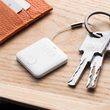 3 STKS Heli Wit Combinatie van Bluetooth Object Finder anti-verloren Locater Apparaat Knipperende Piepende Afstandsbediening Kids Key Bag Portemonnee Locators Kind Alarm Herinnering van XiaoMi YouPin