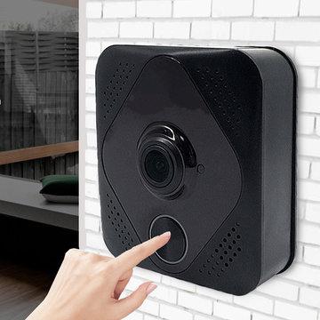 Smart Video Wireless WiFi Doorbell IR Visual Camera Talk Record Beveiligingssysteem
