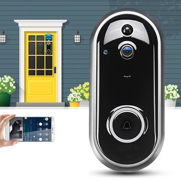 Videodeurbel Camera Draadloze WiFi Beveiliging Telefoon Ring Deurbel Intercom 720P