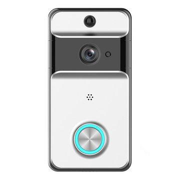 702P waterdichte wifi video deurbel camera twee richtingen audio nachtzicht PIR draadloze belbel alarm