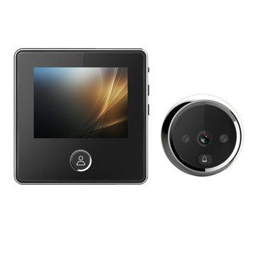 3 inch LCD 1MP 720P kijkgaatje IR Camera 180 dagen standby-tijd Video-deurbel met intern geheugen