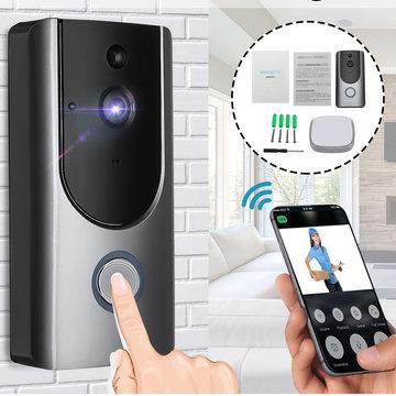 Draadloze PIR video deurbel zichtbaar nachtzicht Home slimme intercom + ontvanger