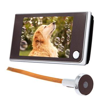 3.5 inch Digital 120 ° Deur kijkgaatje Kijkgaatje Videoweergave Kijker Cameramonitor