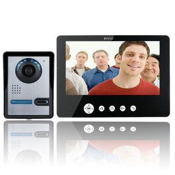 ENNIOSY905FA11 9 inch video deurtelefoon deurbell intercom kit met IR nachtvisie camera en monitor
