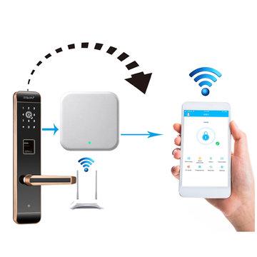 Draagbare deurslot gateway wifi app internet slimme afstandsbediening slotgateway