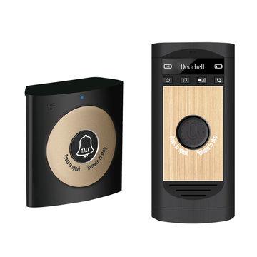 H7A Draadloze Deurbel Draadloze Spraakoproep Deurbel Intercom USB Oplaadbare 200 m Lange afstand Automatische Oproep Bell Intelligente Elektronische Waterdichte Bellen Smart Woonaccessoires