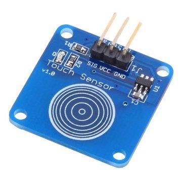 Jog Type Touch Sensor Module Capacitieve Touch Switch Module Geekcreit voor Arduino - producten die werken met officiële Arduino boards