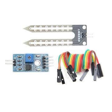 Bodemhygrometer Vochtigheidsdetectiemodule Vochtigheidssensor Geekcreit voor Arduino - producten die werken met officiële Arduino-boards