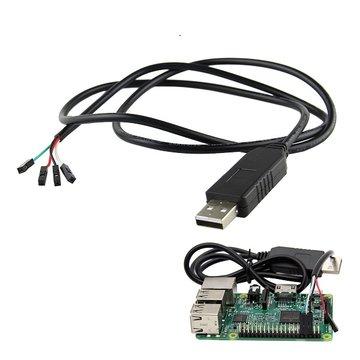 USB naar TTL Debug Serial Port Cable voor Raspberry Pi 3B 2B / COM Port