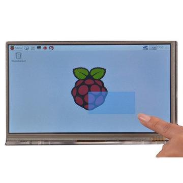 Raspberry Pi 7 inch HD 1024 * 600 module voor aanraakschermmodule met behuizingsbeugel