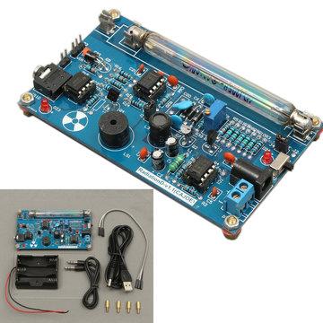 Geassembleerde DIY Geiger Counter Kit Module Miller Tube GM Tube Nucleaire Straling Detector
