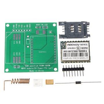 DIY M590E GSM GPRS Communicatiemodulekit Dual Band 900/1800 MHZ 85,6 Kbit / s 900 m-1800 m voor