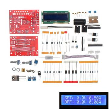 0-28V 0.01-2A Verstelbare DC-geregelde voedingsmodule DIY-set Kortsluitstroombegrenzerbeveiliging