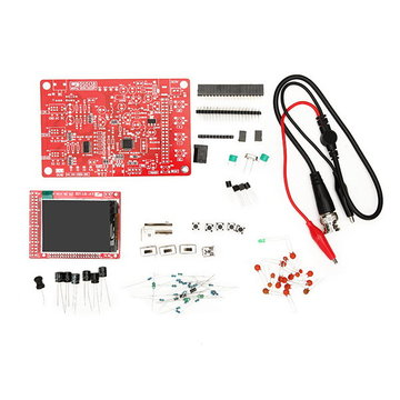 Originele JYETech DSO138 DIY Digitale Oscilloscoop Ongemonteerd Kit SMD Gesoldeerde 13803K Versie