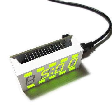 Geekcreit® DIY C51 Mini Creative Simple White Desktop elektronische klokkit