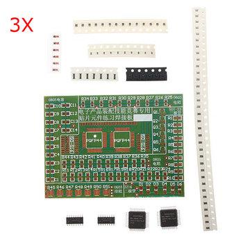 3 stks DIY SMD Componenten Soldeer Praktijk Plaat Kit Voor Training