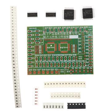 5 stks DIY SMD Componenten Soldeer Praktijk Plaat Kit Voor Training