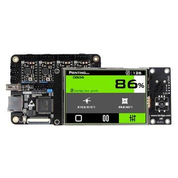 Lerdge® X Geïntegreerd controllerbord Mainboard met 32-bits Coretx-M4 Core-besturingseenheid + 3,5 inch LCD-aanraakscherm + 4PCS A4988 Stappenmotorbesturing voor Reprap 3D-printer