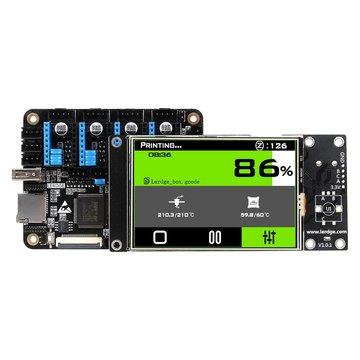 Lerdge® X Geïntegreerd controllerbord Mainboard met 32-bits Coretx-M4 Core-regeleenheid + 3,5 inch LCD-aanraakscherm voor Reprap 3D-printer
