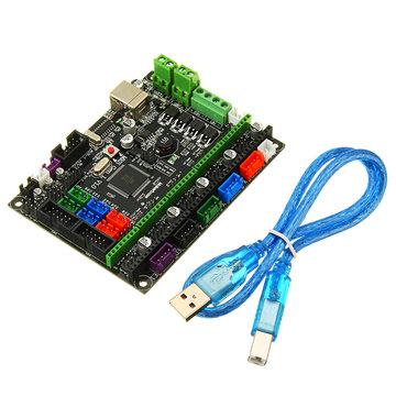 MKS-GEN L V1.0 Geïntegreerde controller Moederbord Compatibele ramps1.4 / Mega2560 R3 voor 3D-printer