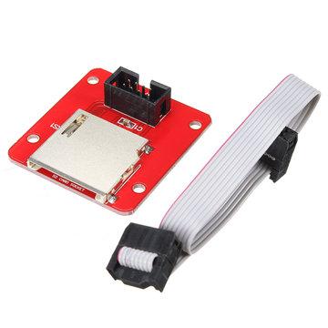 SD Externe Kaart Slot U Schijf Uitgebreide Adapter Voor 3D Printer MKS TFT Touch Screen