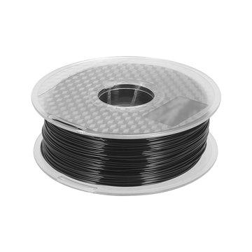 TWEE TREES® Zwart / geel / wit 1,75 mm PETG lichtbestendig filament voor 3D-printer