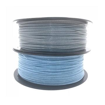 CCTREE® 1,75 mm 1 KG Glitter zilver / blauw PLA Gloeidraad voor 3D-printer