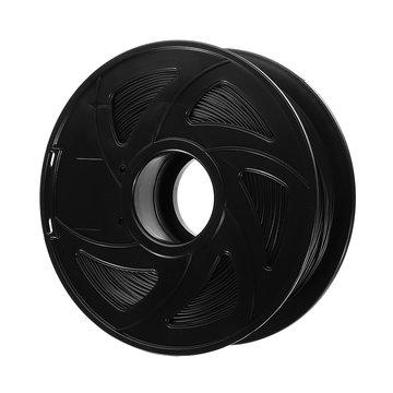 XVICO® 1,75 mm 1KG / Roll zwarte kleur PLA Koolstofvezel gloeidraad voor 3D-printer