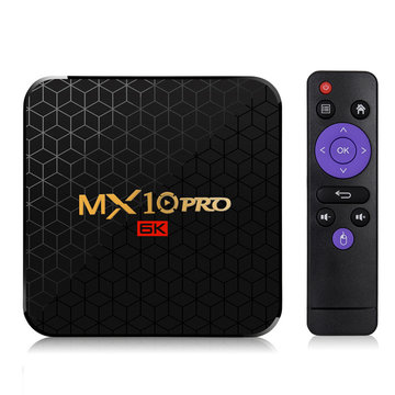 MX10 Pro Allwinner H6 4GB RAM 64GB ROM 2.4G WIFI Android 9.0 6K 4K TV Box