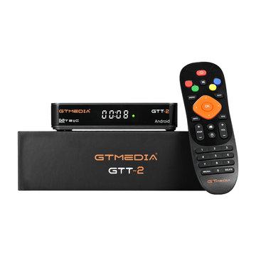 GTMEDIA GTT2 382.689 DVB-C ISDB-T Satellietontvanger Kabel Amlogic S905D 2 GB 8 GB Android 4K H.265 TV Box