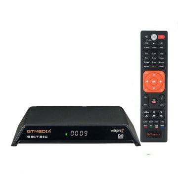 GTMEDIA V8 Pro 2 DVB-S / S2 / S2X DVB-T / T2 Kabel ISDB-T HD 1080P H.265 TV-signaal Satellietontvanger