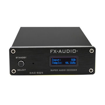 FX-Audio DAC-SQ5 Mini Hifi USB DAC Audio Decodering Hoofdtelefoon Versterkers Amplificador Decoder PCM1794 AK4113 SA9027 24BIT 192 KHz