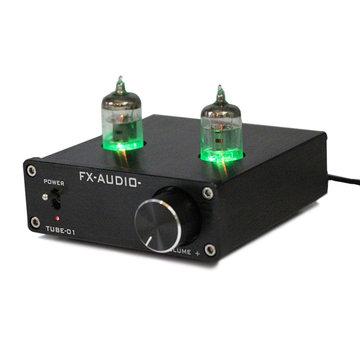 EU FX-Audio Tube-01 Mini 6J1 Ventiel Vacuümbuis Voorversterker Stereo Audio HiFi Buffer Versterker