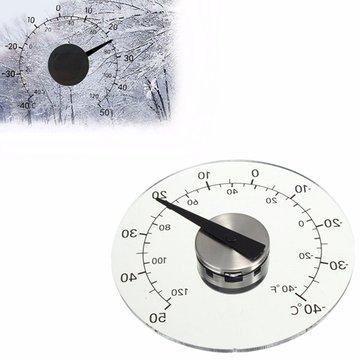 4,33 inch thermometer transparante ronde cirkelvormige temperatuur temperatuur thermograaf