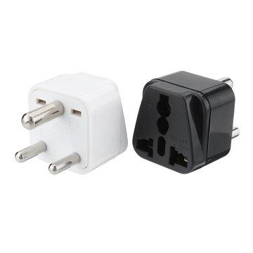 Universele AC Power Type D 3-pins ronde stekker Travel Adapter Convert